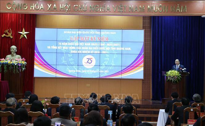 Thủ tướng dự gặp mặt kỷ niệm 75 năm Ngày Tổng Tuyển cử đầu tiên