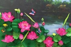 'Phù phép' rau củ thành ống hút ăn được, biến đất sét thành hoa sen hồng