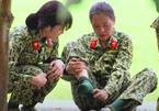 Nam Thư bị chấn thương khi luyện võ tại 'Sao nhập ngũ'
