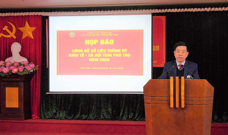 Phú Thọ: GRDP năm 2020 ước tính tăng 3,56%