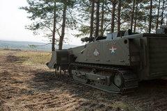 Video người máy công binh Nga rà phá bom mìn
