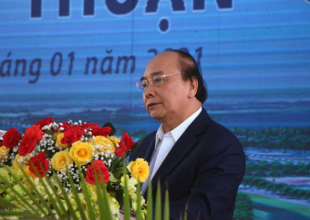 Thủ tướng phát lệnh khởi công cao tốc Mỹ Thuận - Cần Thơ