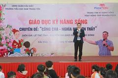Trường Tiểu học Nam Trung Yên: dạy kỹ năng sống từ lòng biết ơn