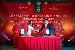 Vinhomes 'bắt tay' tập đoàn Nhật Bản phát triển dự án The Sakura