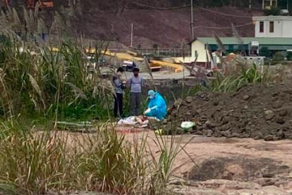 Người đàn ông chết bất thường gần nhà máy nhiệt điện ở Quảng Ninh