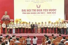 Hậu Giang tổ chức thành công Đại hội thi đua yêu nước lần thứ V