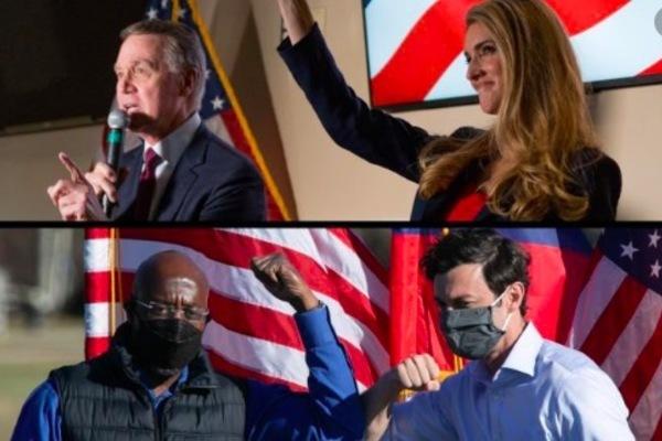 Georgia bỏ phiếu quyết định cán cân quyền lực ở Thượng viện Mỹ