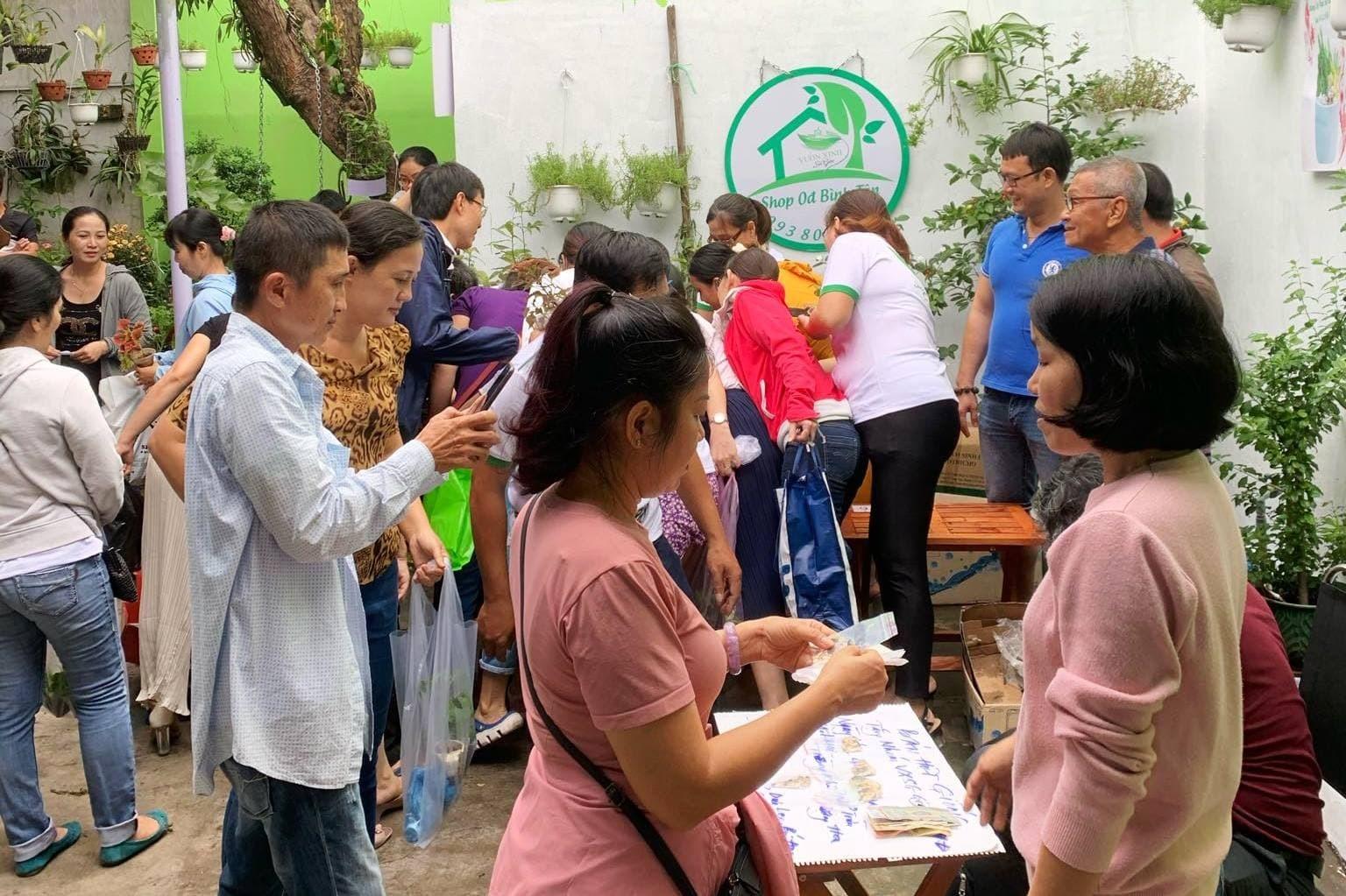 Người Sài Gòn mở 'Shop 0đ', lan tỏa thú vui trồng cây