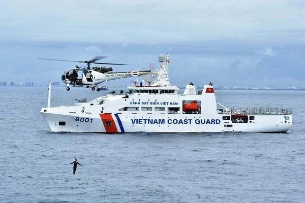 Cảnh sát biển phải đủ khả năng xử lý tình huống phức tạp nhất trên biển