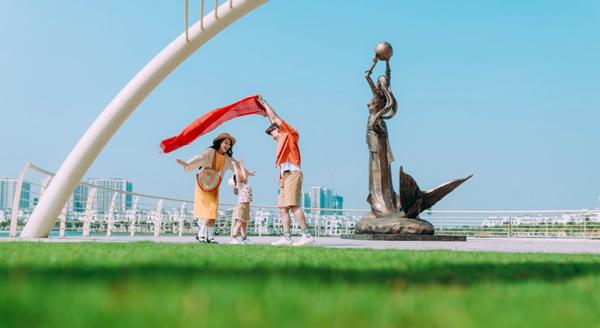Cận cảnh nhịp sống sôi động tại đại đô thị Vinhomes Ocean Park