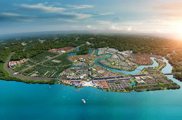 Lý do khiến bất động sản đô thị đảo 'hút khách'