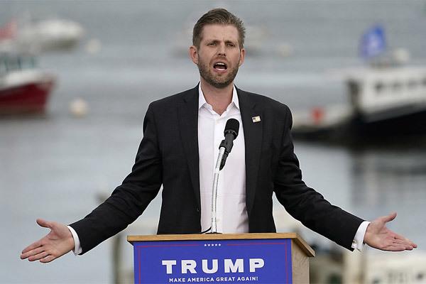 Con trai ông Trump dọa đánh bại các nghị sĩ Cộng hòa không chống kết quả bầu cử