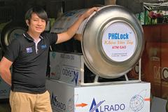 Creator of 'rice ATMs' remains humble about his newfound fame