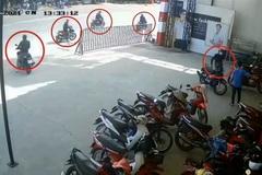 Clip dàn cảnh cướp 2 xe máy trước mặt bảo vệ xôn xao cộng đồng mạng