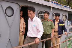 Chủ tịch Vĩnh Long đến hiện trường chỉ đạo tìm kiếm đại uý CSGT mất tích