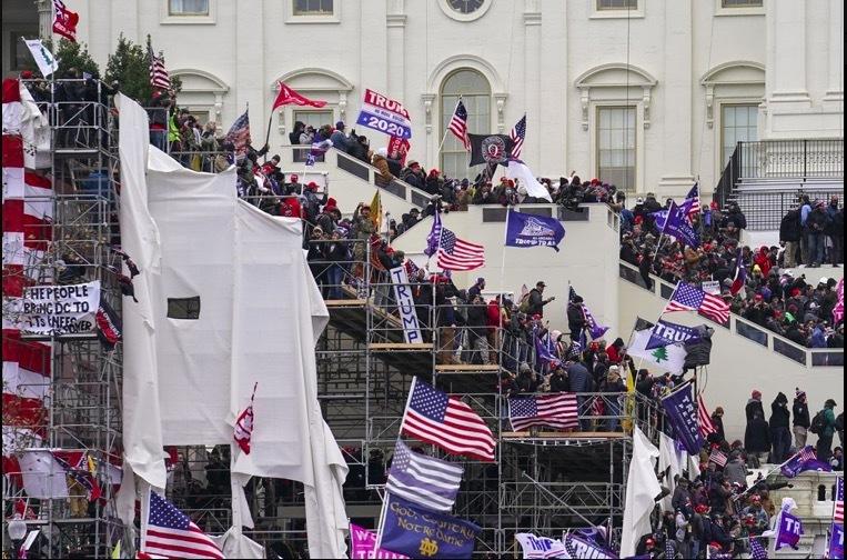 Cảnh bạo lực tại trụ sở Quốc hội Mỹ làm thế giới bị sốc