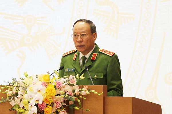 Thượng tướng Lê Quý Vương: Tội phạm về tham nhũng, chức vụ diễn ra phức tạp