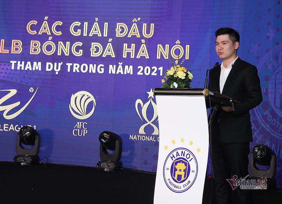 Hà Nội muốn đòi ngôi vô địch V-League, bay cao tại AFC Cup