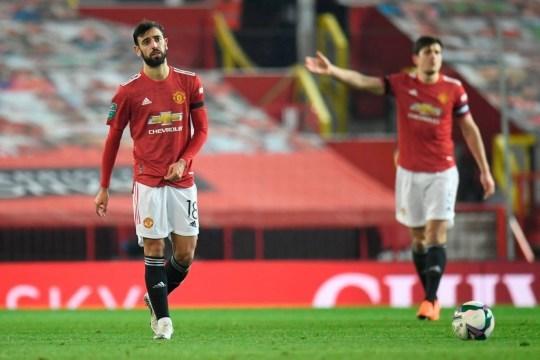 Bruno Fernandes mờ nhạt trước Man City, huyền thoại MU nói phũ
