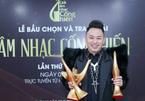 Tùng Dương thắng 3 giải quan trọng ở Cống hiến 2021