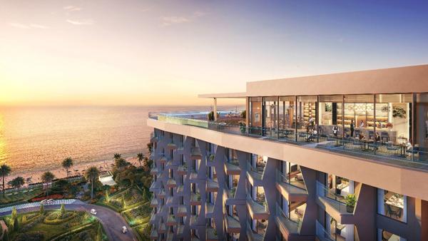 Căn hộ du lịch Alaric Tower mang hơi thở đại dương trong từng đường nét thiết kế