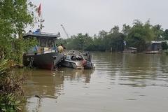 Tìm thấy thi thể đại uý CSGT mất tích trên sông