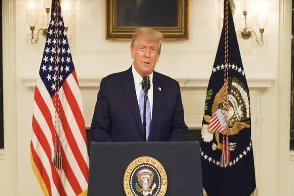Ông Trump lên án những kẻ tấn công trụ sở Quốc hội Mỹ