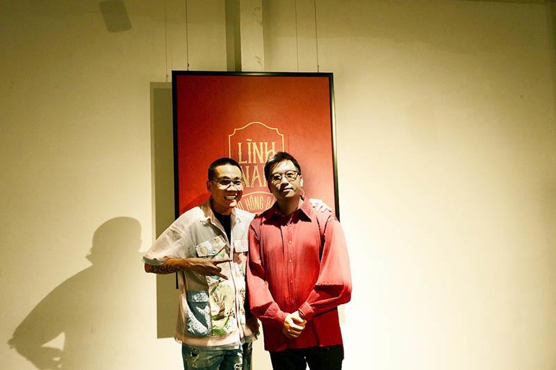 Wowy, Quang Đăng đi xem triển lãm 'Lĩnh Nam'