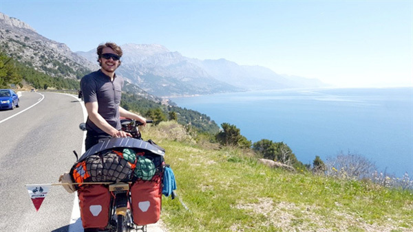 Micha makes a journey of a lifetime