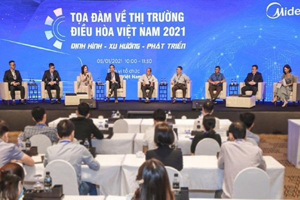 Thị trường điều hòa năm 2021 đầy hứa hẹn