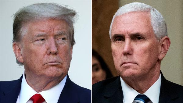 Ông Trump và Phó Tổng thống Pence 'cơm không lành, canh chẳng ngọt'