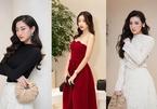 Dàn Hoa hậu, Á hậu chịu lạnh 10 độ tham dự sự kiện thời trang