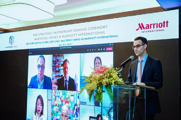 Masterise Homes bắt tay Marriott International xây bất động sản hàng hiệu