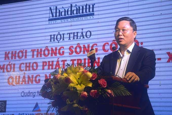 486 tỷ khơi thông sông Cổ Cò kết nối vùng đô thị giữa Quảng Nam và Đà Nẵng