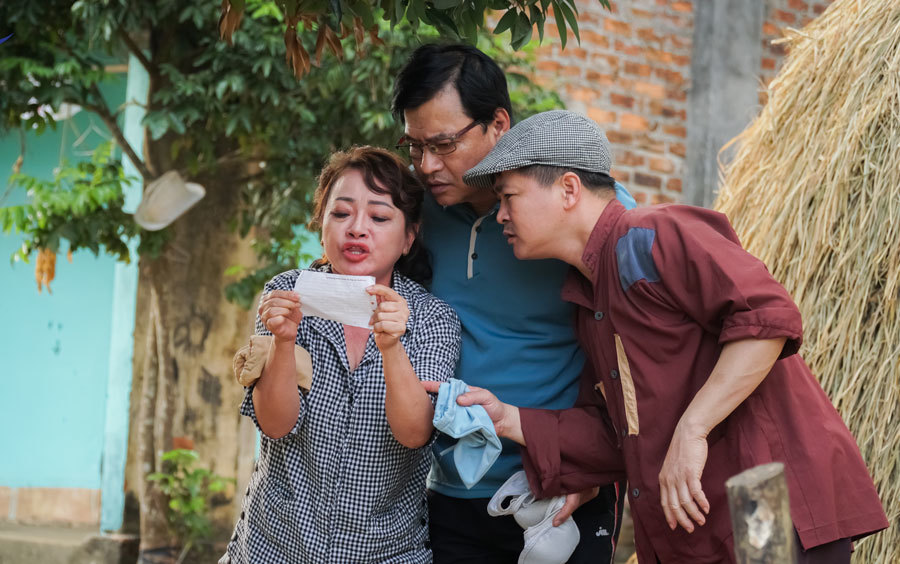 NSND Quốc Anh, Trà My vào vai vợ chồng phim hài Tết