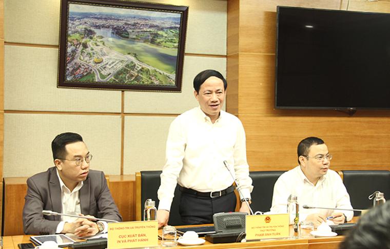 Bộ Thông tin và Truyền thông quan tâm tới hoạt động thống kê các số liệu, để làm cơ sở hoạch định chính sách