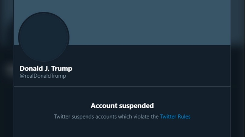 Bị Twitter cấm cửa, ông Trump dùng tài khoản Tổng thống Mỹ ra thông điệp mới