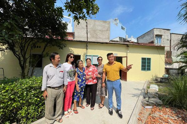 Gia đình Lý Hùng tặng 500 triệu sửa Viện dưỡng lão nghệ sĩ
