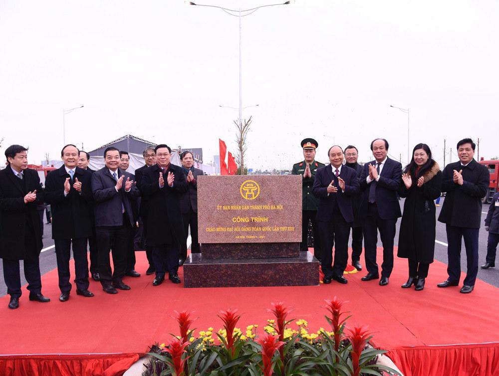 Thông xe nút giao 400 tỷ nối cao tốc Hà Nội - Hải Phòng với Vành đai 3