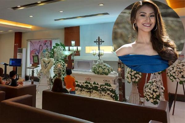 Gia đình khóc nghẹn trong tang lễ Á hậu Philippines
