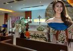 Gia đình đau đớn trong tang lễ Á hậu Philippines