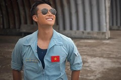 Thanh Sơn, Bình An bật mí phim về phi công phát sóng trên VTV