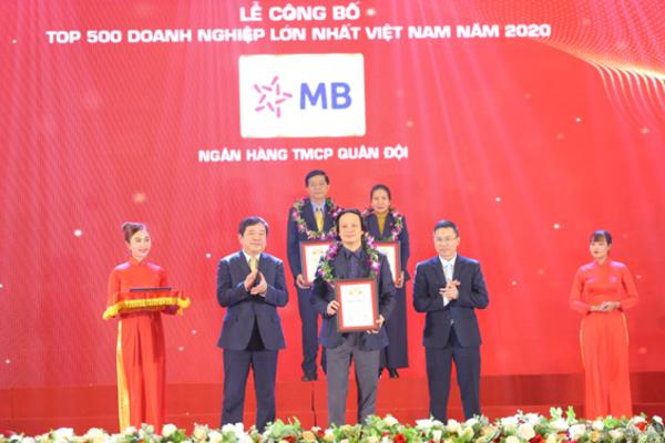 MB ghi danh vào top 30 doanh nghiệp lớn nhất Việt Nam