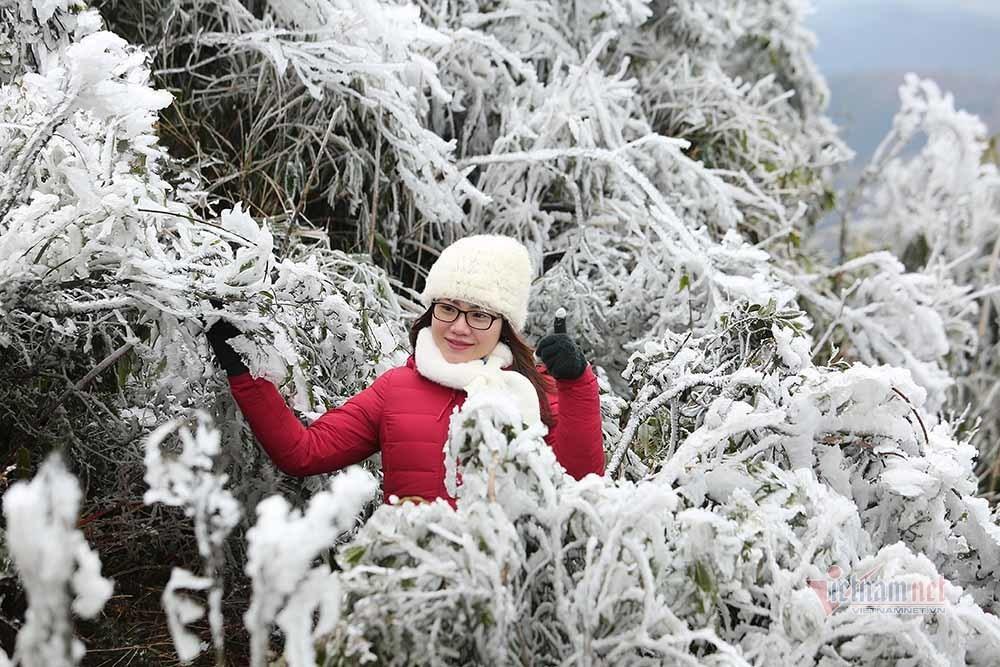 Những đợt băng tuyết như châu Âu hiếm gặp ở miền Bắc