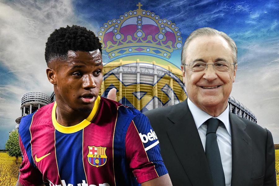 Real Madrid 'cướp' viên ngọc Ansu Fati của Barca