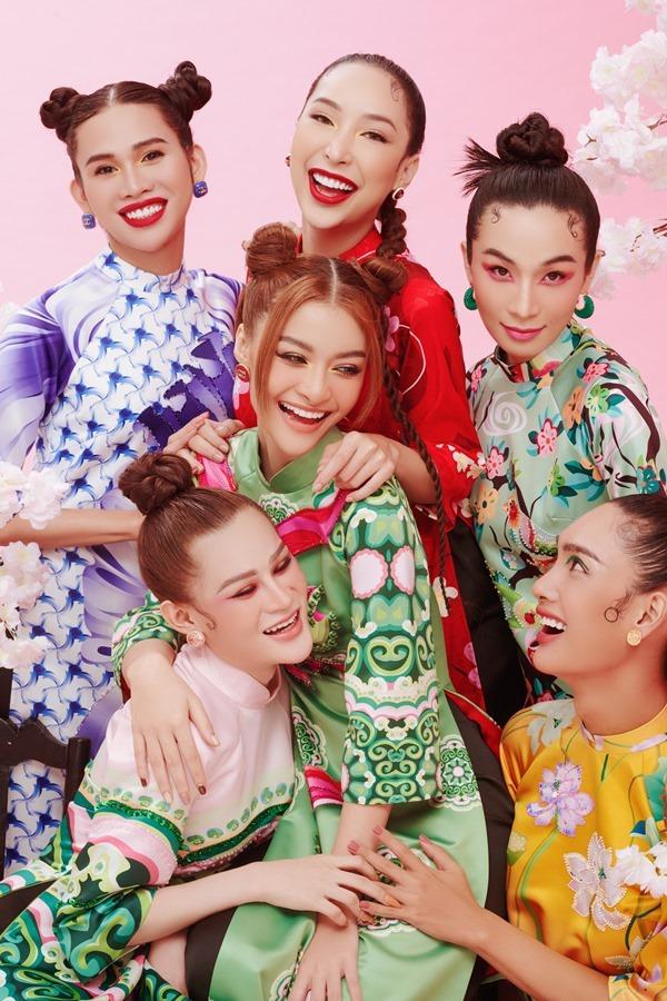 Á hậu Kiều Loan cùng 5 người đẹp chuyển giới khoe sắc