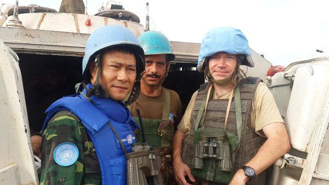 Trồng rau ở châu Phi, bộ đội Việt Nam khiến bạn bè quốc tế nể phục