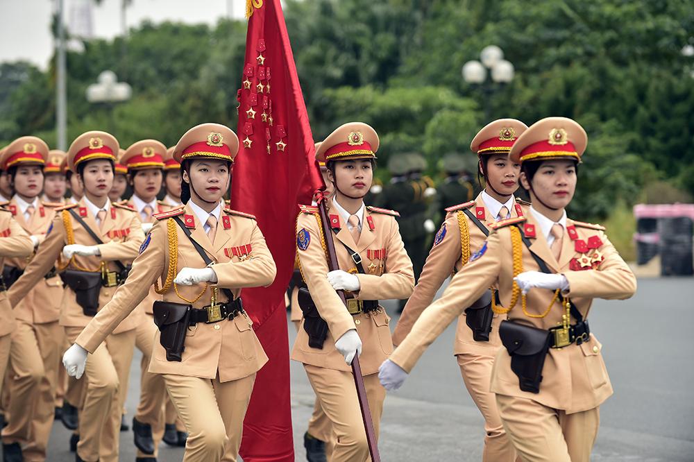 Hùng dũng lễ xuất quân, diễn tập bảo vệ Đại hội Đảng