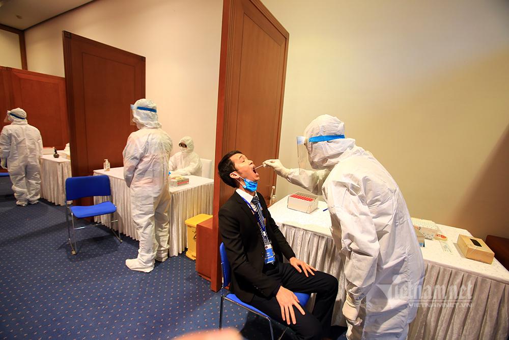 Diễn tập y tế phục vụ Đại hội Đảng