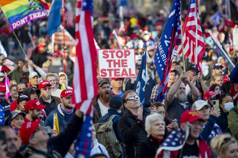 Nhìn lại 65 ngày dẫn đến vụ bạo loạn rúng động nước Mỹ